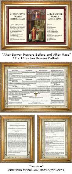 ENGLISH MASS CARDS