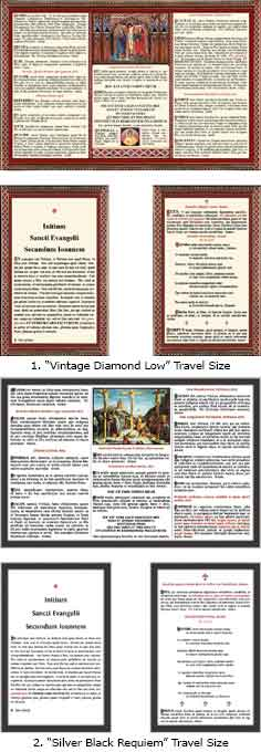 LATIN TRAVEL SIZE ALTAR CARDS