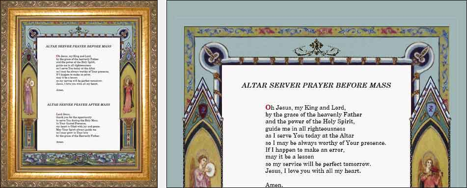 Altar cards latin english sacristy prayers myriad creative altar cards latin english sacristy prayers myriad creative concepts thecheapjerseys Images