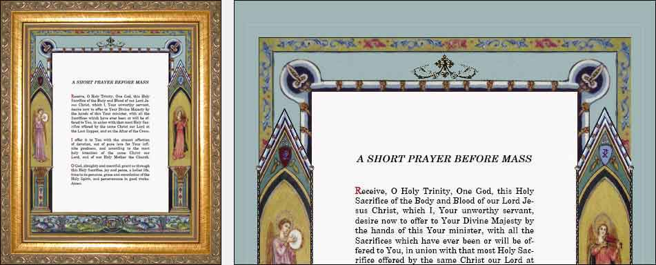 Altar cards latin english sacristy prayers myriad creative altar cards latin english sacristy prayers myriad creative concepts thecheapjerseys Gallery